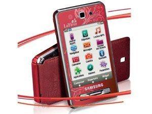 Samsung SGH-F480  Player Style La Fleur (Rouge)