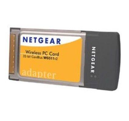 Netgear WG511 Carte PCMCIA sans fil 54 Mbp/s