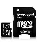 Transcend Micro SDHC 4Go Class 4