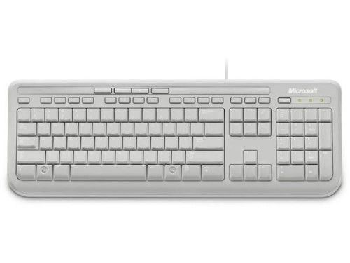 Microsoft Wired Keyboard 600 (Blanc)