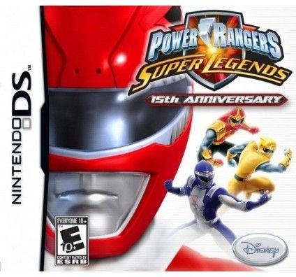 Power Rangers : Super Legends - Nintendo DS