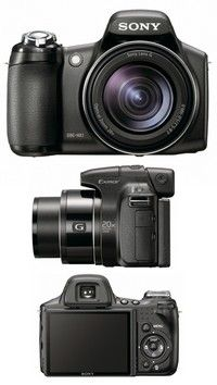 Sony Cyber-Shot DSC-HX1 (Black)
