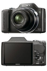 Sony Cyber-Shot DSC-H20 (Black)