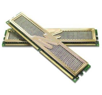 OCZ PC8000 2048Mo DDR2 Gold XTC Dual (2x1024Mo)