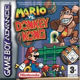 Mario Vs Donkey Kong - Game Boy Advance