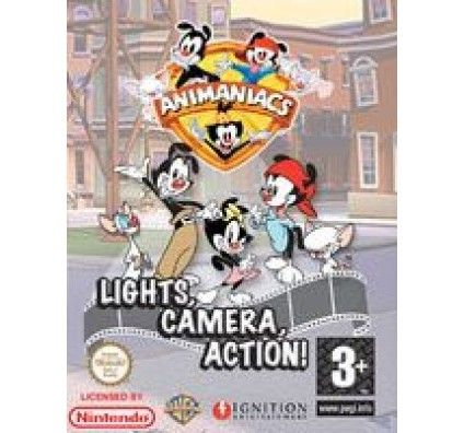 Animaniacs : Lights, Camera, Action - Nintendo DS