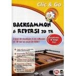 Backgammon et Reversi 3D - PC