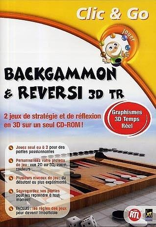 Backgammon et Reversi 3D - PC