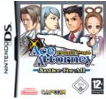 Phoenix Wright : Ace Attorney Justice For All - Nintendo DS