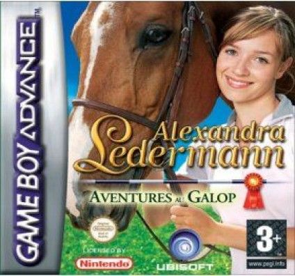 Alexandra Ledermann GBA : Aventures au Galop - Game Boy Advance