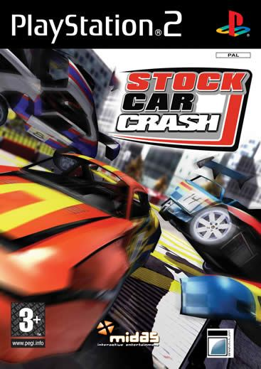 Stock Car Crash - Playstation 2