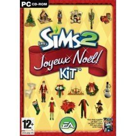 Les Sims 2 : Kit Joyeux Noël - Mac