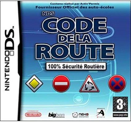 Code de la Route DS : 100% Sécurité Routière - Nintendo DS