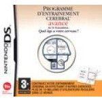 Brain Training : Programme d'Entraînement Cérébral Avancé - Nintendo DS
