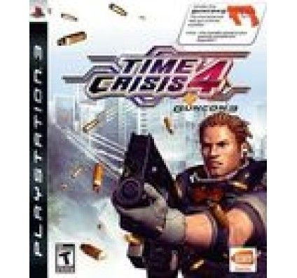 Time Crisis 4 + Gun G-Con 3 - Playstation 3