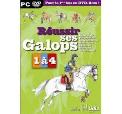 Réussir Ses Galops 1 à 4 - PC