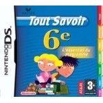 Tout Savoir 6ieme - Nintendo DS