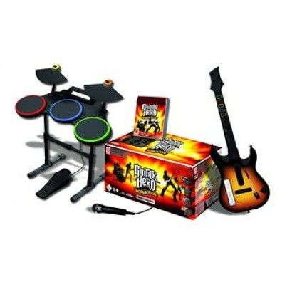 Guitar Hero : World Tour Super Bundle - Xbox 360