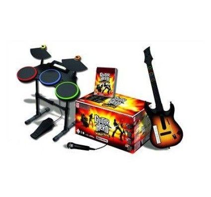 Notre avis sur Guitar Hero 5 + Guitare - Xbox 360 – Rue ...