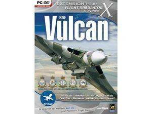 Add on flight simulator X : RAF VULCAN - PC