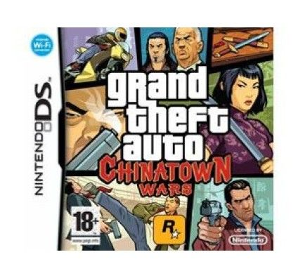 Grand Theft Auto - Chinatown Wars - Nintendo DS