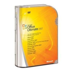 Microsoft Office Ultimate 2007 - PC