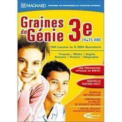 Graines de Génie 3ème 06/07 - PC