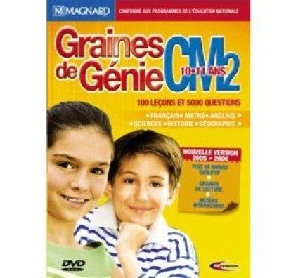 Graines de Génie CM2 05/06 - PC