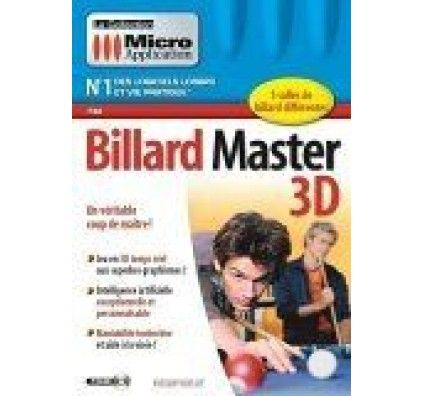Micro application Billard 3D Master - PC