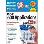 Micro application Plus de 600 Applications pour Excel - PC