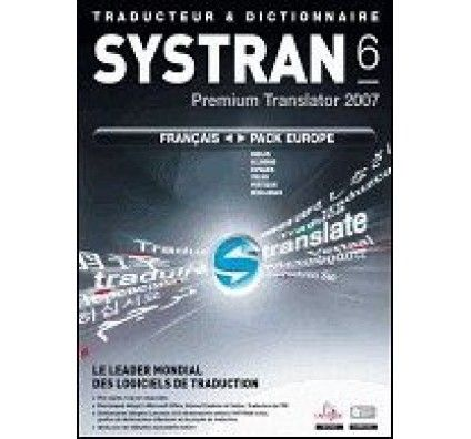 Systran v6 Premium Translator 2007 - PC