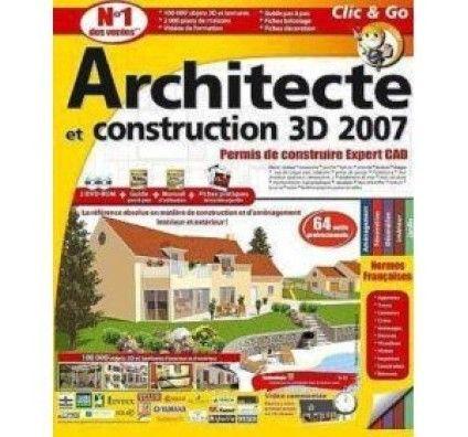 Architecte et Construction 3D 2007 - Permis de construire Expert CAD - PC