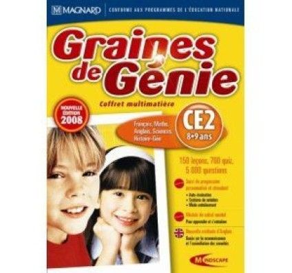 Graines de Génie CE2 08 - PC