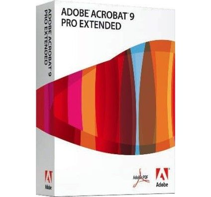 Adobe Acrobat 9.0 Professionnel Extended - PC