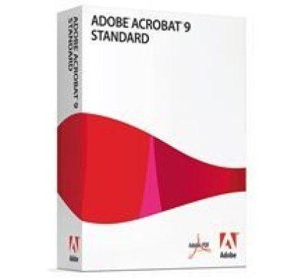 Adobe Acrobat 9.0 Standard - PC