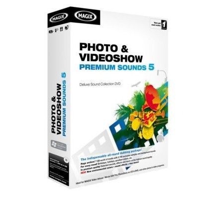 Magix Photo et Videoshow Premium Sounds 5 - PC