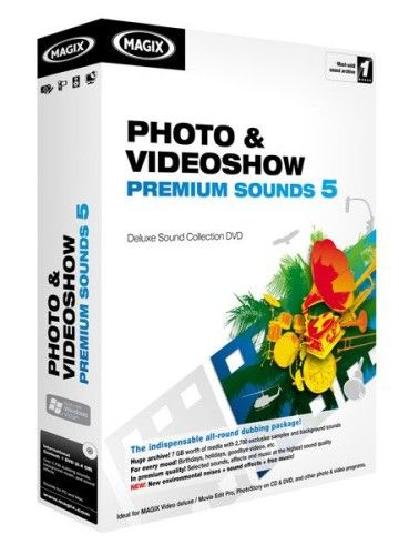 Magix Photo et Videoshow Premium Sounds 5 - PC