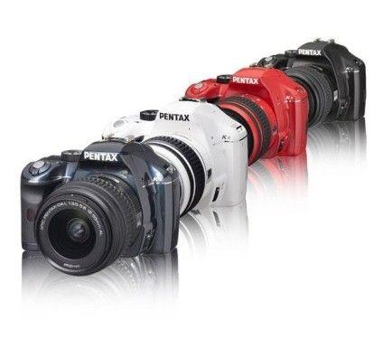 Pentax K-X (Black) + 18-55mm