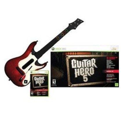 Guitar Hero 5 + Guitare  - Xbox 360