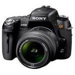 Sony DSLR-A500 (Black) + 18-55mm