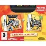 Guitar Hero : On tour + On tour Decades + Grip - Nintendo DS