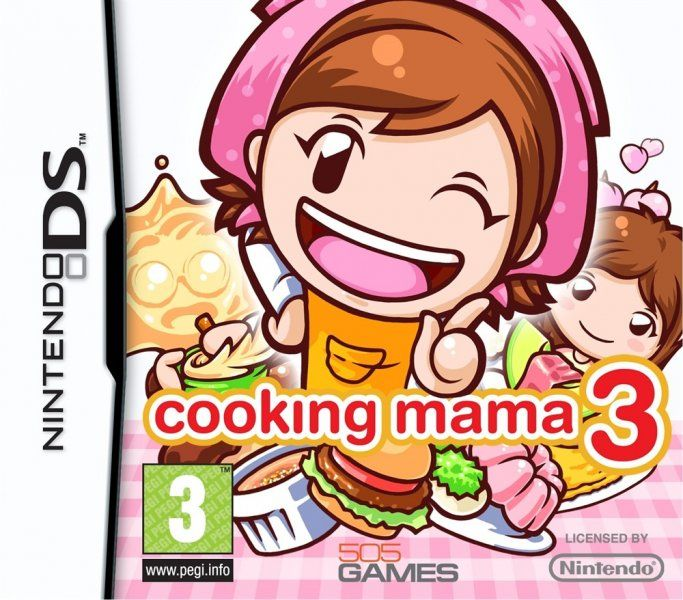 Cooking Mama 3 - Nintendo DS