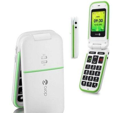 Doro PhoneEasy 410 (Blanc)