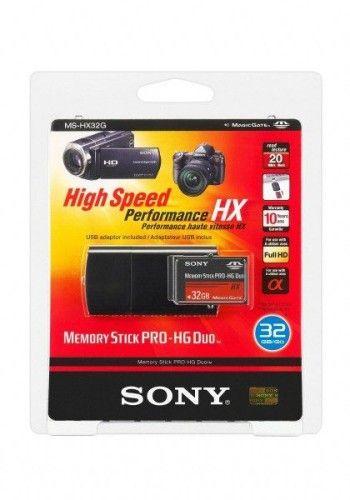 Sony Memory Stick PRO HG Duo HX 32Go