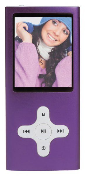 ClipSonic MP211 4Go (Violet)