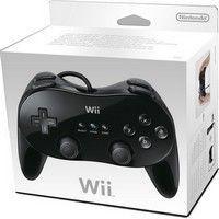 Manette Wii Classique Pro (Black)