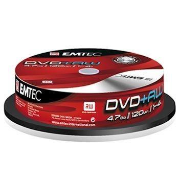 Emtec DVD+RW 4.7Go 4x (Spnidle x10)