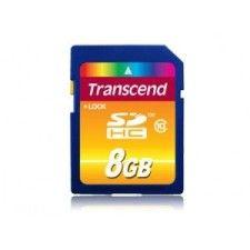 Transcend SDHC 8Go Class 10