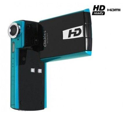 Clickles HD Cam 5010 (Black/Bleu)