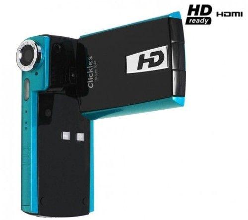 Clickles HD Cam 5010 (Black/Bleu)